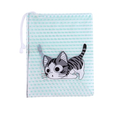 Waterproof funny travel wash bag drawstring toiletry organizer wholesale cosmetic bag