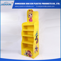 Good quality lower price OEM cardboard candy display stand