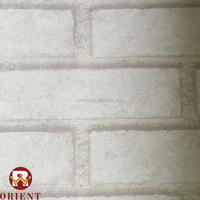 Brick Style Leadshow Series PVC 3D Fashion Design Wallpapers