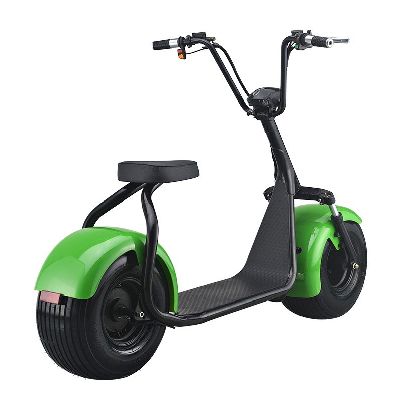 Green Travel-Harley 1000W Brushless Motor Electric City Scooter/2 Wheels Electric Autobike with Hydraulic disc brakes