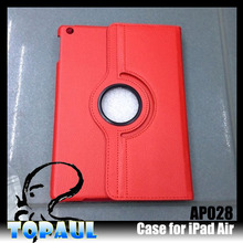 slim defender case wallet genuine leather case for iPad Air