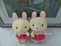 Factory Directly Sale Fashion New Design Lovely&Cute Animal Rabbit Plush Toy