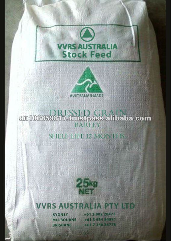 Animal feed for Dressed Grains - Barley