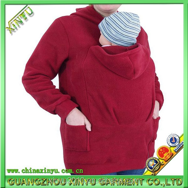 Baby carrier Cheap blank baby wearing hoodie