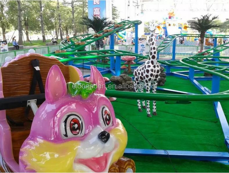 Double mini shuttle /Outdoor roller coaster/amusement park ride