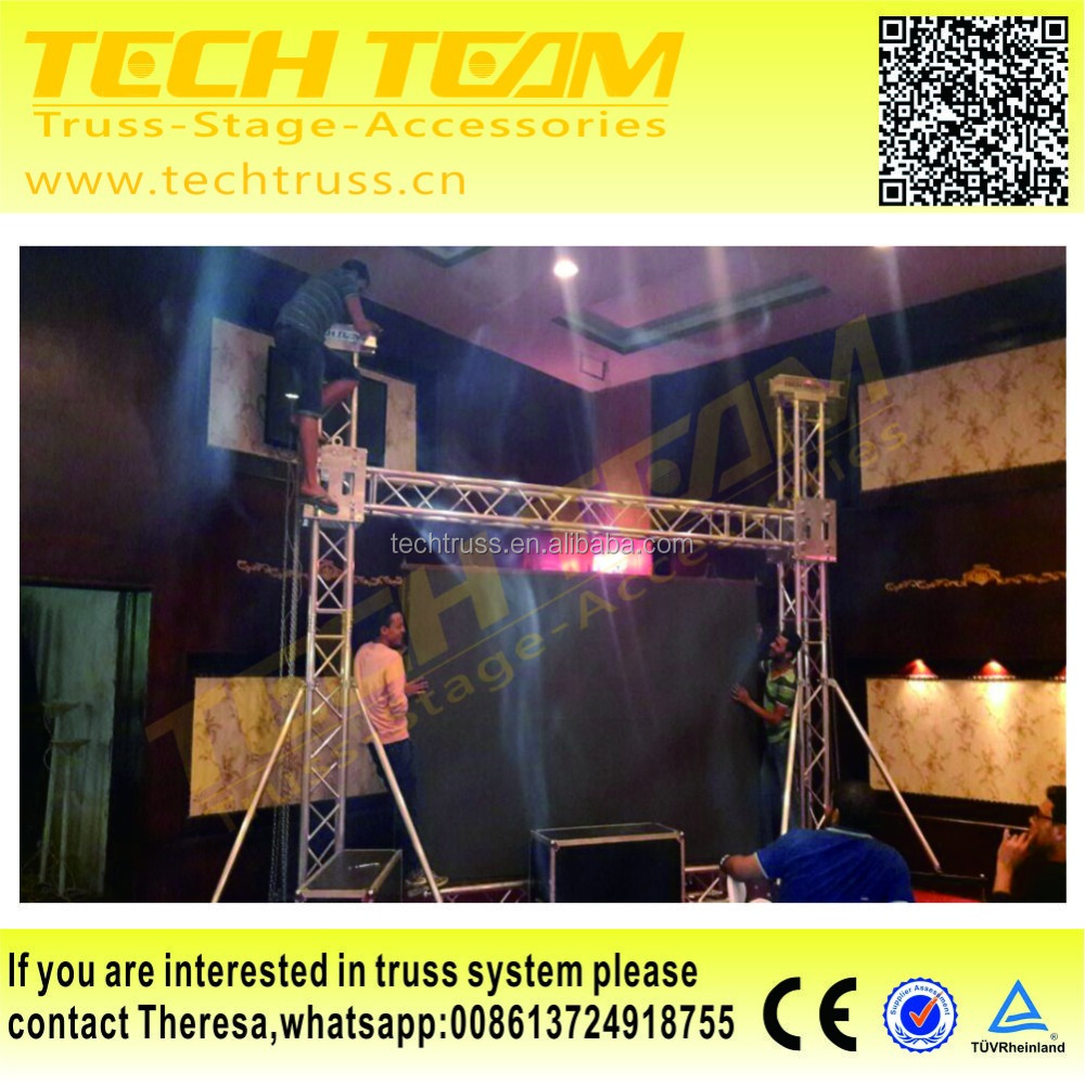 Outdoor Led Screen Truss Aluminum Truss For Haning LED Display Screen Sale To Egype
