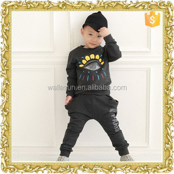 Super quality printing T/C kids ready made garment