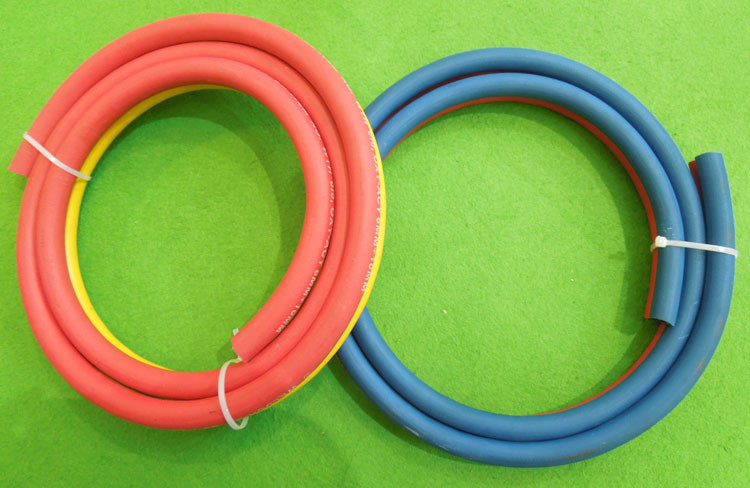 twin welding hose (17)