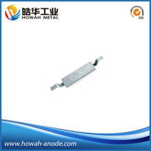 marine sacrificial aluminum cathodic protection alloy anode