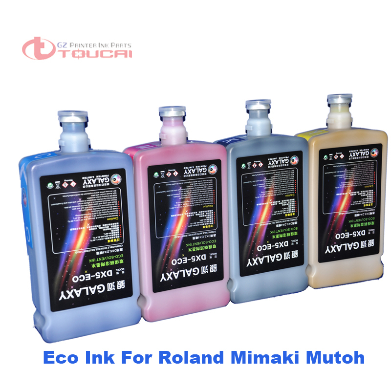 Digital printing ink Print heads DX4 DX5 DX7 environmental eco solvent ink