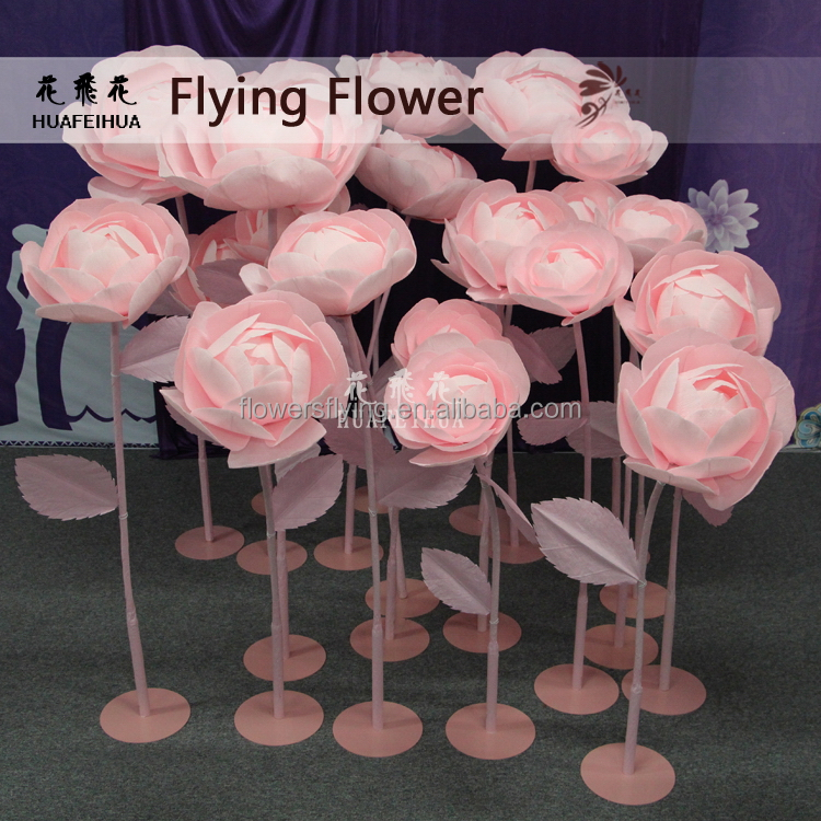 Shanghai factory best quality artificial soap rose flower