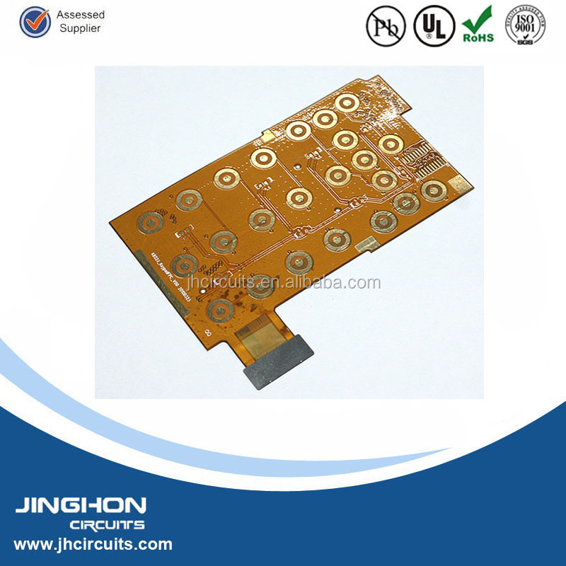 Flex LED strips type and changing emitting color flexible pcb for led