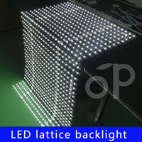 chinese Flexible LED backlight sheet LED LATTICE strip for Advertising light box