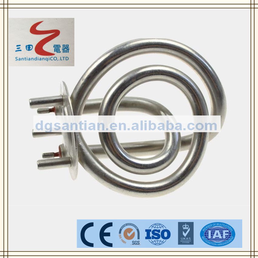santian heating element Tubular heating element for water boiler Electric heating product