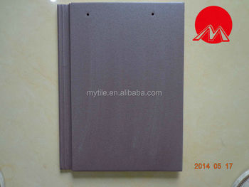MY8044 pearl blue body flat roof tile