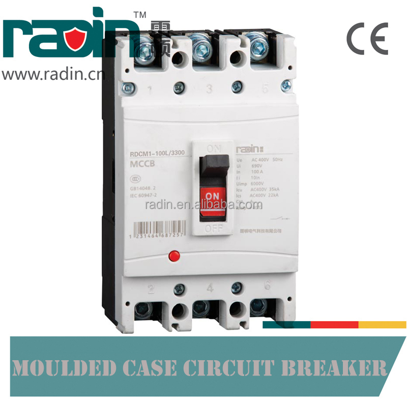 RDCM1-100L Moulded Case Circuit Breaker 100A MCCB