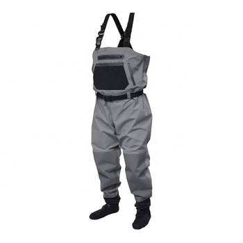 REINFORCED NYLON BREATHABLE STOCKINGFOOT WADER MENS FISHING WADER