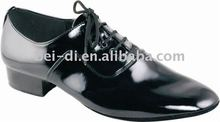 Mens dance shoes with soft leather