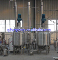 2ton polymer resin production line,5ton unsaturated polyester resin line,1ton alkyd resin line