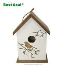 Cage and aviary cheap pet decor chinese wood bird house