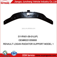 RENAULT LOGAN CAR RADIATOR SUPPORT UP AUTO METAL SIDE PANEL FOR REPLACEMENT