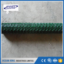 wholesale pvc coated plastic chain link fence