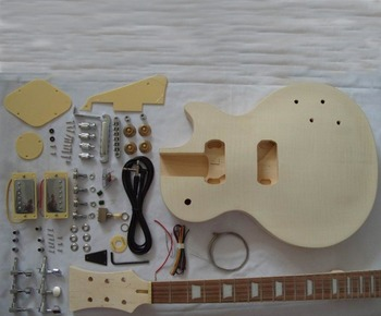 wholesales diy unfinished electric guitar build kit