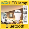 New flux bluetooth wifi controlled led color smart light bulb 7w e27 rgbw