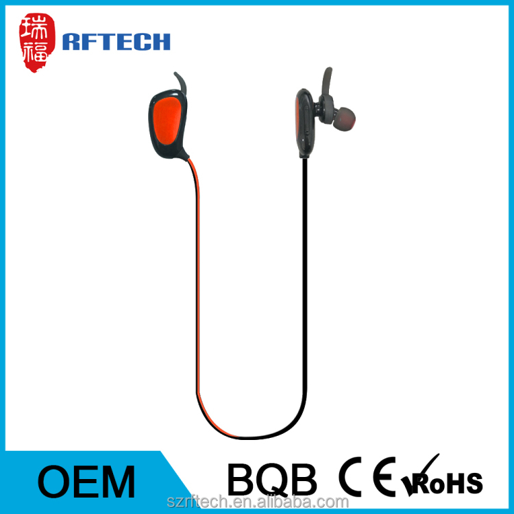 Professional bluetooth headphones wireless,csr bluetooth headset With ISO9001 certificates