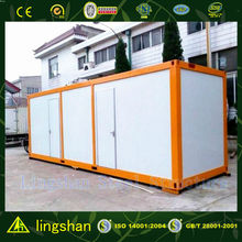 Cheap flexible prefab residential container house with BV certification