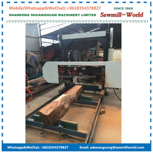 Portable Horizontal Wood Cutting Saw Sawmill Bandsaw