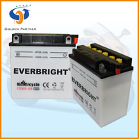 China low temperature start motorcycle battery 12v 9ah gel battery