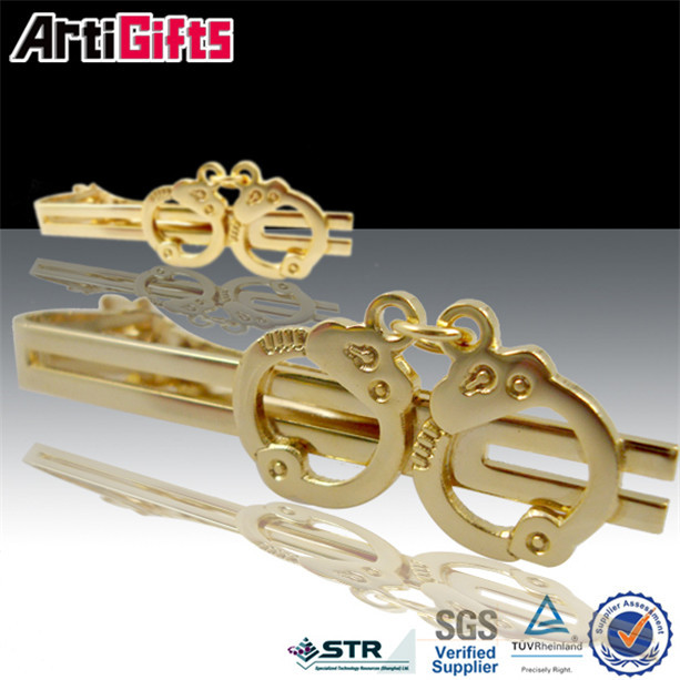Factory manufacture basketball tie clip