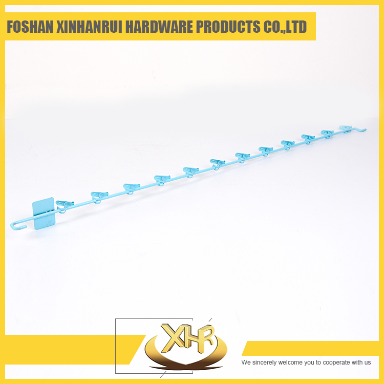 Skyblue metal clip strip for display snacks in market 82.5