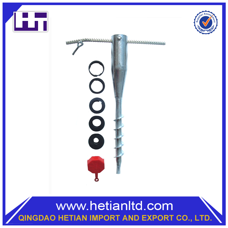 China Manufacturer Steel Ground Mounting Screw And Ground Screw Pole Anchor