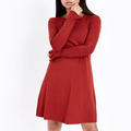 Wholesale Oem New Arrivals Bell Sleeve Jersey Swing Fabric For Casual Ladies Wears Dress