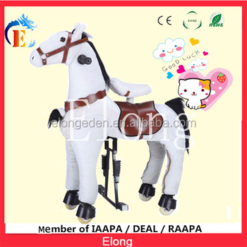 Mechanical Riding pony toy /Mechanical walking horse with high quality