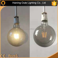G80 G95 G125 E27 B22 2W 4W 6W 8W 10W 110-220V Edison led light bulbs dimmable, ceramic filament LED BULB