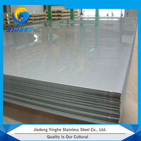 Wholesale high quality cold rolled hairline finished stainless steel sheets price per kg