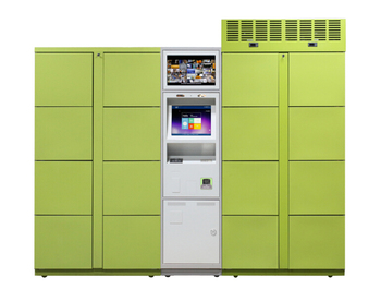 SMART parcel delivery locker