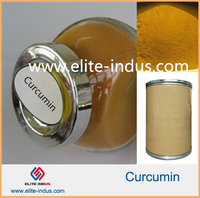 High quality Pure Curcumin Wholesale, Bulk Organic Turmeric Root extract powder 95% water soluble curcumin