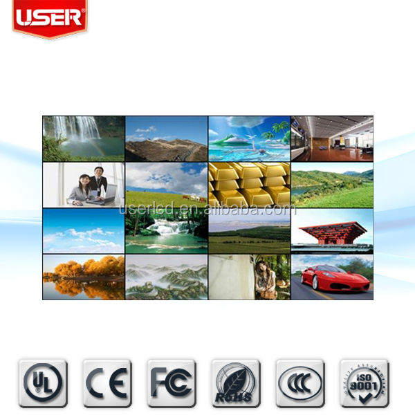 "Shenzhen CCTV security ultra slim 52"" led tv IPS video wall free software"