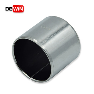Customized best price high performance self slide Pb free DU Teflon Bushing