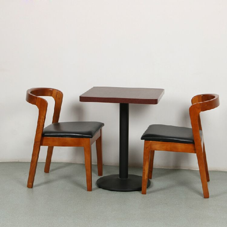 Wholesale modern restaurant beech wooded chair <strong>and</strong> table furniture set,