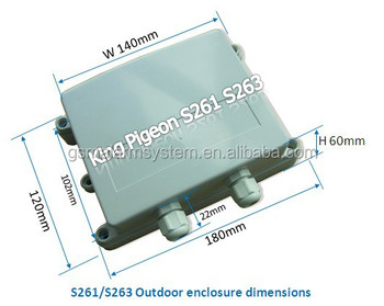S261 GSM 3G Outdoor Temperature Data Logger GPS Alarm Monitoring