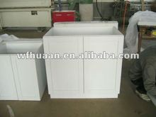 2015 most popular pvc cabinet kitchen design made in china