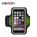 HAISSKY Water Resistant Mobile Phone Key Holder Running Sports Armband Case Bag for iPhone 7 plus