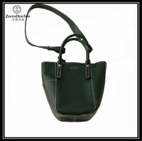 High quality classic leather ladies hand bag handbag manufacturers China