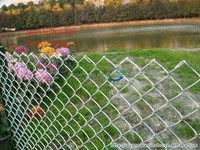 Closed Edge Chain Link Mesh Fence/Rolled Fencing/River Fence(Anping No.1 Exporter)