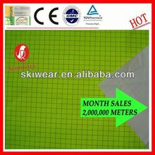 Waterproof pu laminated backpack fabric material China Manufacturer